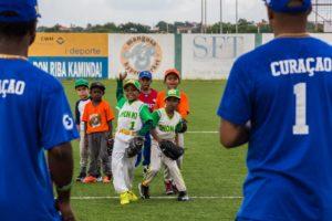 LaVida Curacao Baseball Week Curacao, Hensley Meulens Jurickson Profar, Didi Gregorius. Foto's door Inge van Altena